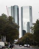Edificio di Deutsche Bank, Francoforte, Germania Fotografie Stock Libere da Diritti