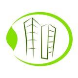Edificio di Eco. Immagini Stock Libere da Diritti