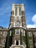 Edificio di Entrance_university fotografia stock