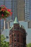 Edificio di Flatiron - di Toronto - Goodenham e mosti di malto immagini stock libere da diritti