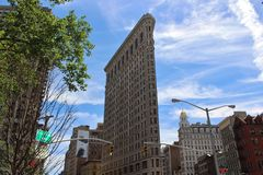 Edificio di Flatiron, New York Fotografia Stock