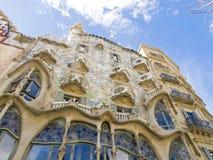 Edificio di Gaudi a Barcellona 0611 Fotografia Stock