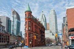 Edificio di Gooderham, Toronto immagini stock
