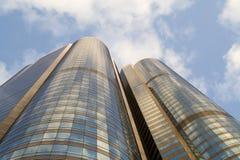 Edificio di Hong Kong Fotografia Stock