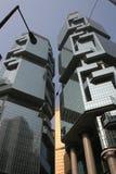 Edificio di Hong Kong Fotografia Stock Libera da Diritti