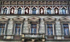 Edificio di Interbelic Fotografie Stock Libere da Diritti