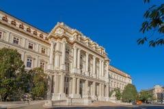 Edificio di Justizpalast dell'più alta corte a Vienna, Austria Fotografia Stock Libera da Diritti
