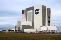 Edificio di Kennedy Space Center Vehicle Assembly Immagine Stock Libera da Diritti
