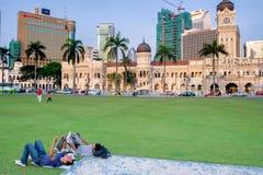 Edificio di Kuala Lumpur Sultan Abdul Samad fotografia stock libera da diritti
