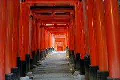 Edificio di Kyoto Fotografia Stock Libera da Diritti