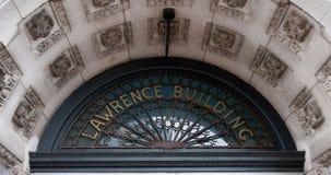 Edificio di Lawrence in Waltham Fotografie Stock Libere da Diritti