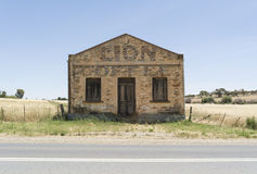 Edificio di Lion Coffee Stone Grocery Store in Kapunda, SA fotografia stock libera da diritti