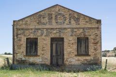 Edificio di Lion Coffee Stone Grocery Store in Kapunda, SA fotografia stock