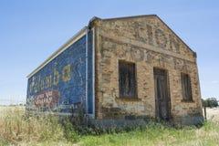 Edificio di Lion Coffee Stone Grocery Store in Kapunda, SA immagini stock libere da diritti