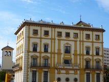 Edificio di Malaga Fotografia Stock