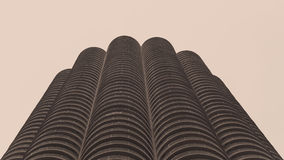 Edificio di Marina City in Chicago Fotografia Stock Libera da Diritti