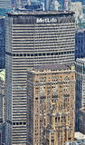 Edificio di MetLife a New York immagini stock libere da diritti