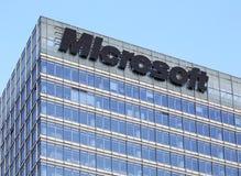 Edificio di Microsoft Fotografie Stock