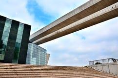 Edificio di Morden Fotografia Stock Libera da Diritti