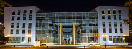 Edificio di municipio Fotografie Stock Libere da Diritti