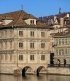 Edificio di municipio di Zurigo Fotografia Stock
