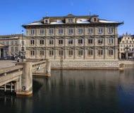 Edificio di municipio di Zurigo Immagini Stock