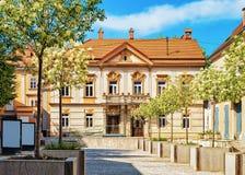 Edificio di municipio di Rotovz a Maribor Slovenia fotografia stock libera da diritti