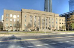 Edificio di Municpal a Oklahoma City Immagini Stock Libere da Diritti