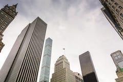 Edificio di 432 Park Avenue Fotografia Stock