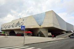 Edificio di Phaeno a Wolfsburg Fotografia Stock