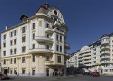 Edificio di Porges Palota a Banska Bystrica Fotografia Stock Libera da Diritti