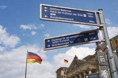 Edificio di Reichstag Fotografia Stock