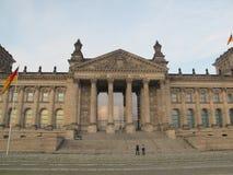 Edificio di Reichstag, Berlino fotografia stock