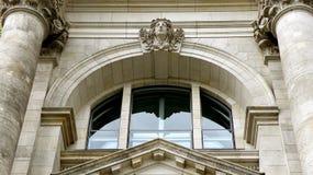 Edificio di Reichstags a Berlino Immagini Stock