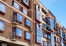 Edificio di Residental Immagine Stock