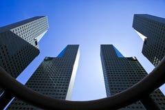 Edificio di Singapore Fotografie Stock