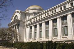 Edificio di Smithsonian orizzontale Fotografia Stock