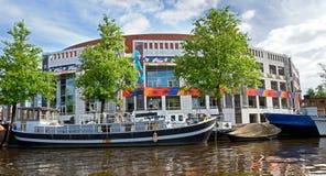 Edificio di Stopera - di Amsterdam Immagini Stock Libere da Diritti
