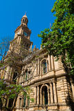 Edificio di Sydney Town Hall, Australia Immagini Stock