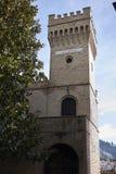 Edificio di Torre Sandro e Arnaldo Mussolini Fotografia Stock