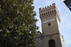 Edificio di Torre Sandro e Arnaldo Mussolini Immagini Stock Libere da Diritti