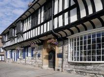 Edificio di Tudor a York Fotografia Stock