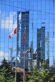 Edificio di Vancouver - Canada immagini stock libere da diritti