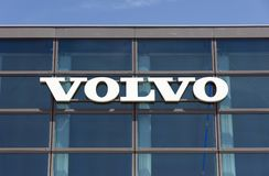 Edificio di Volvo a Amsterdam Immagine Stock