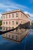 Edificio di Weiler nel museo dell'acropoli in cui il museo del centro per gli studi dell'acropoli è alloggiato Fotografia Stock