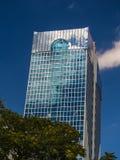Edificio dinámico del negocio en Francfort, Alemania fotos de archivo