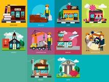 Edificio e costruzione royalty illustrazione gratis