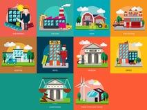 Edificio e costruzione illustrazione di stock
