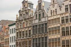 Edificio ed architettura di Anversa fotografia stock libera da diritti