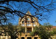 Edificio emblemático en Porto Alegre fotografía de archivo